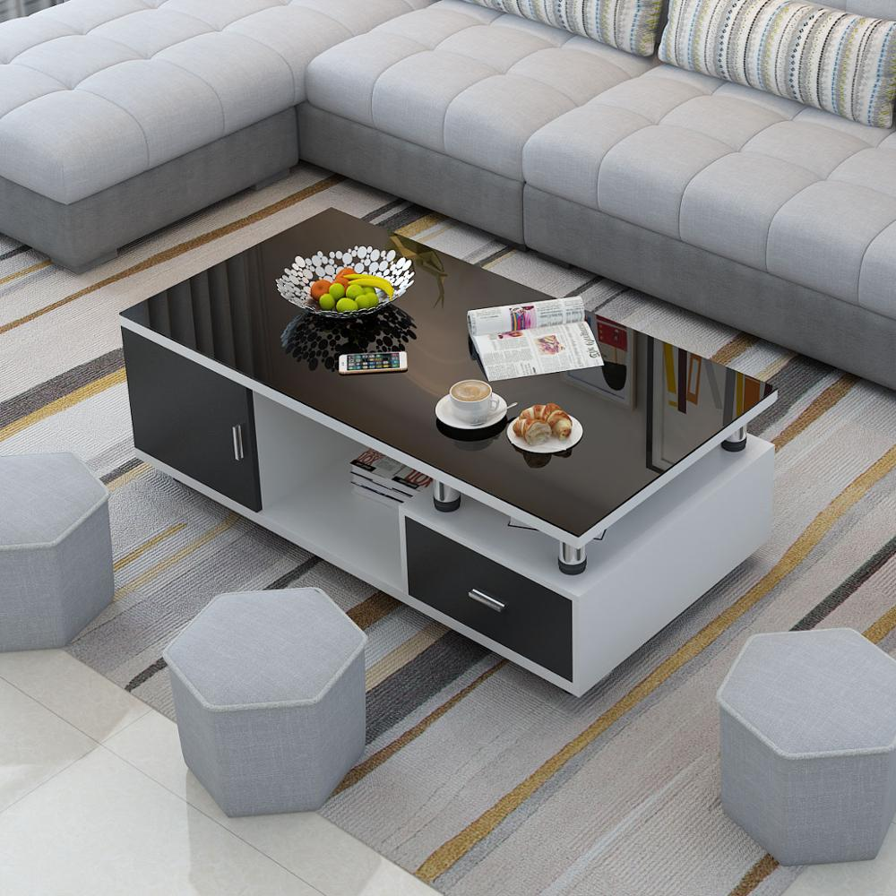 Modern Design Coffee Table And Tv Table Set White Color Tv Cabinet And Tea Table Tv Stands Aliexpress