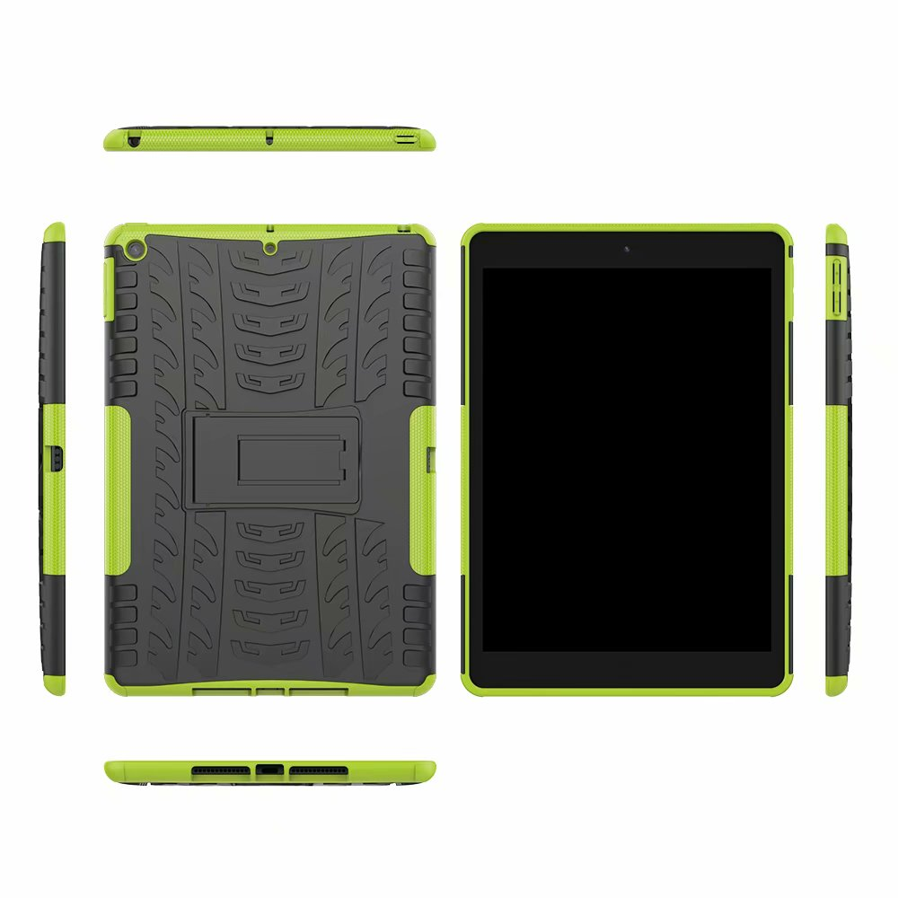 Apple Rugged Shockproof Hybrid-Armor iPad Heavy-Duty Child Defender Case-Cover for Kids