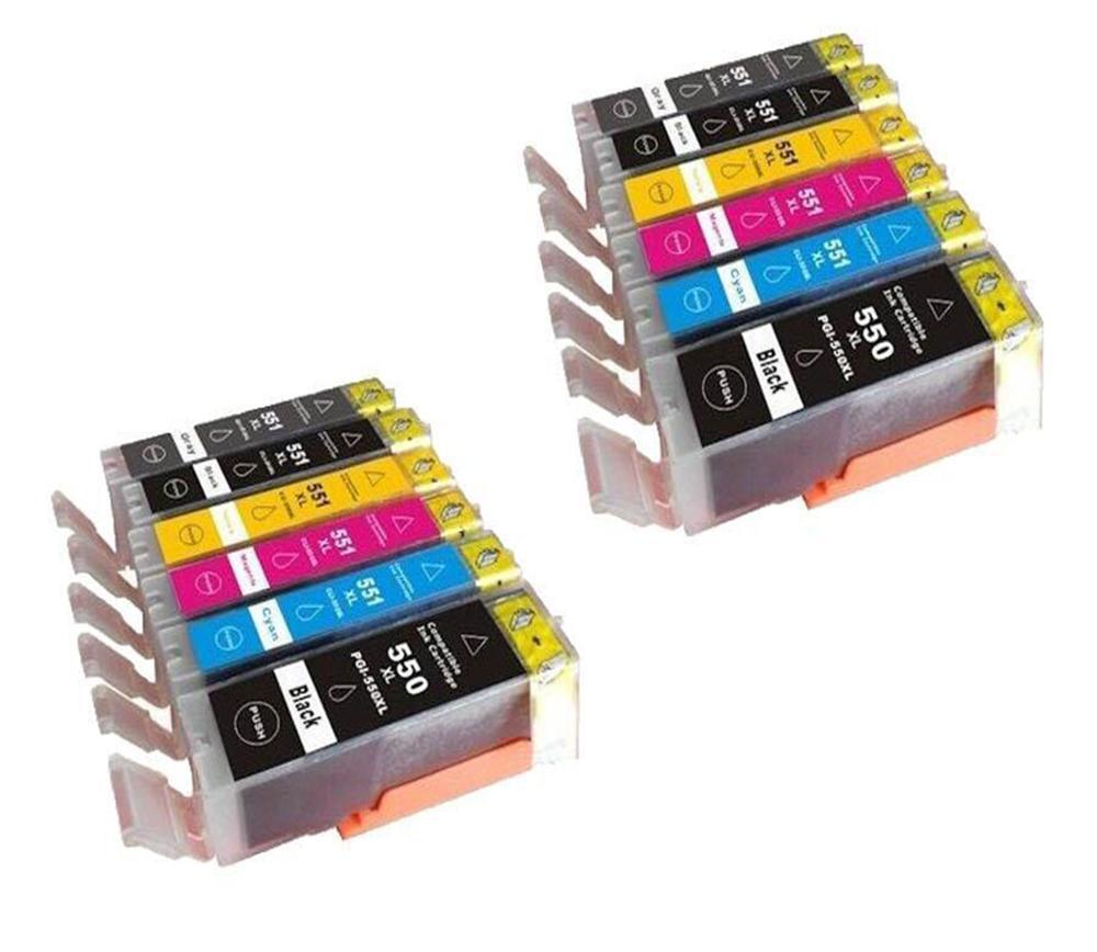 Чернильный картридж PIXMA IP7250 CLI551 MG5650 Canon MX925 PGI550 для картриджей принтеров Pgi550/Cli551/Pixma/