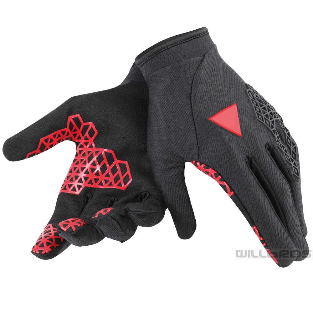新しいオートバイサイクリング手袋dainモトクロス布手袋モトレース若い拡張guanto 4