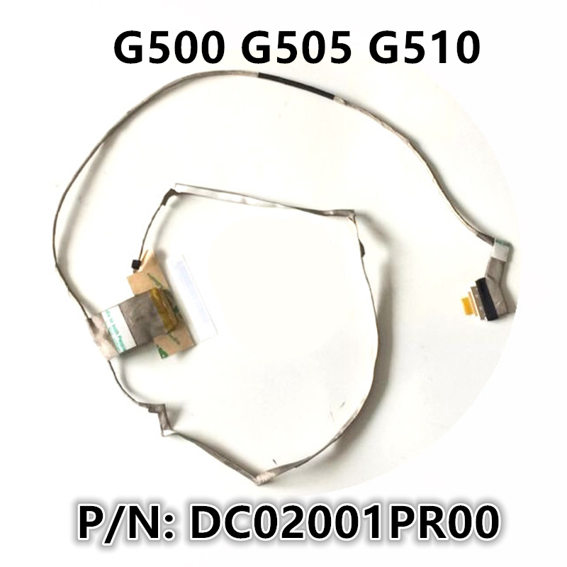 Neue Loptop <font><b>LCD</b></font> LED LVDS Video Display Flex draht Kabel Für <font><b>Lenovo</b></font> G500 <font><b>G505</b></font> G510 P/N: DC02001PR00 image