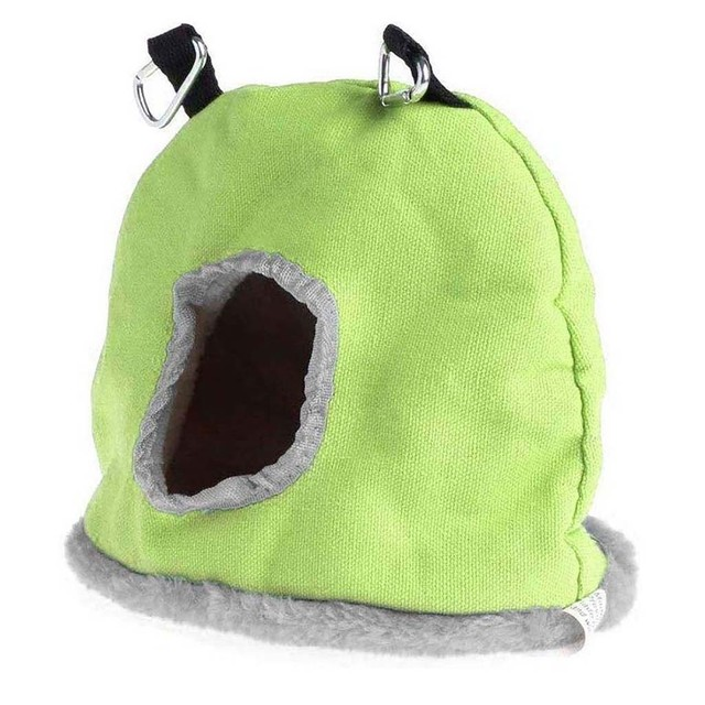 Colorful Comfortable Parakeet Hut 3