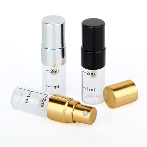 Image 5 - 50 pieces/lot 2ml empty perfume bottle Aluminum Spray Atomizer Portable Travel Cosmetic Container Scale Bottles