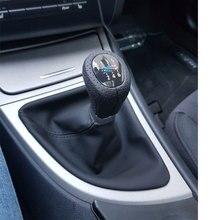 Автомобиль для включения и выключения Шестерни Ручка автомобильный Стайлинг Аксессуары для хэтчбеков Bmw серий 1 E81 E82 E87 E88 E90 E91 E92 E93