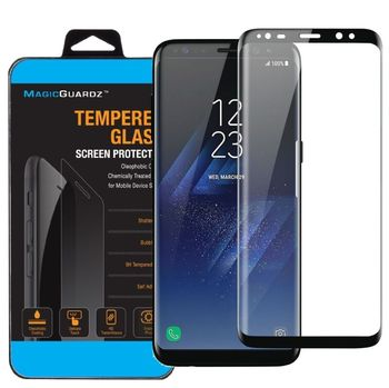 New For Samsung Galaxy S8/S8 plus+ Tempered Glass Case Friendly Screen Protector image