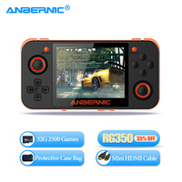 ANBERNIC RG350 Handheld Retro Game Console RG 350 HDMI TV Video Game Player 64 Bit IPS 360 Controller Joystick Portable Console