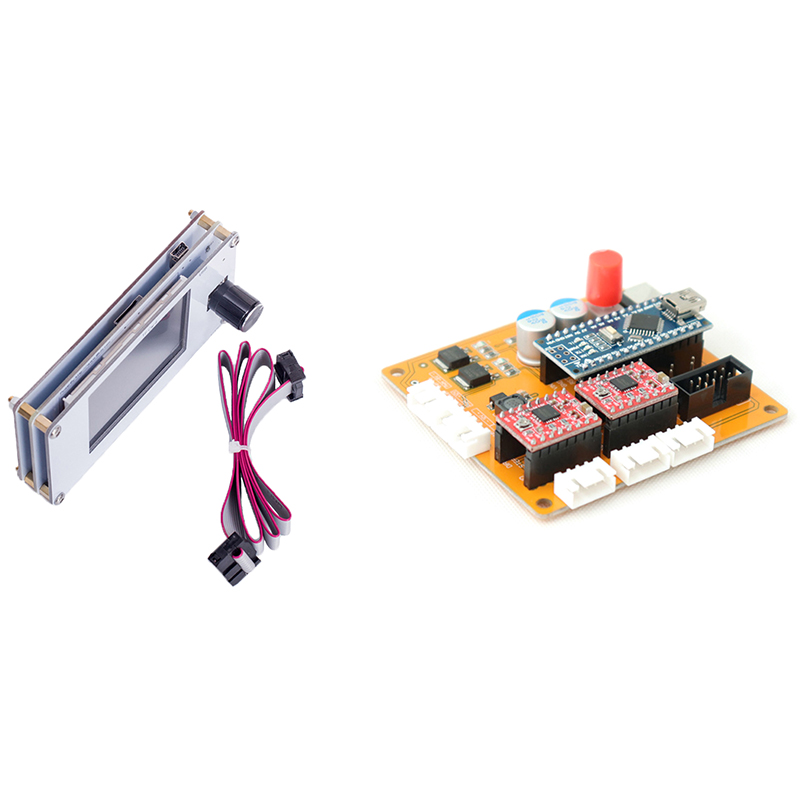 GTBL 2Axis Usb Control Board+Offline Working Controller Panel Engraving Machine Pcb Board Cutter Engraver Motor Control