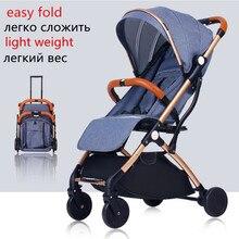 Baby Kinderwagen Leichte Reisetasche
