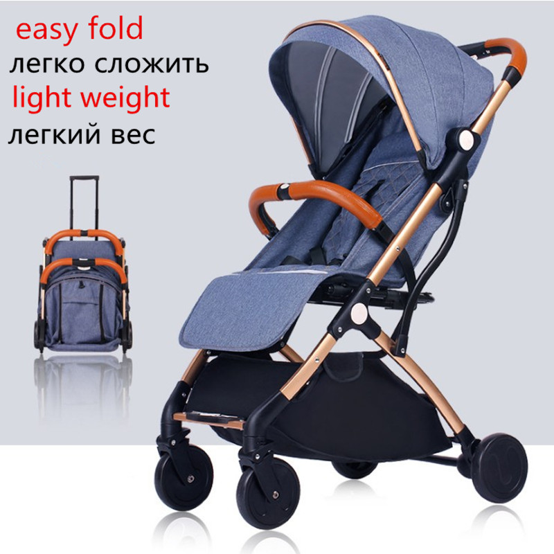 Image 4 - Baby Stroller Lightweight Travel-in Four Wheels Stroller from Mother & Kids