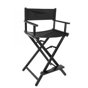 Image 3 - Professional Folding Aluminum Alloy Makeup Artist Directors Face Painters Chair for Home Salon Folding Makeup Chair