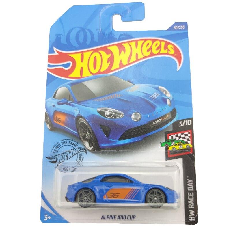 2020-80 Hot Wheels 1:64 Car ALPINE A110 CUP  Metal Diecast Model Car Kids Toys Gift