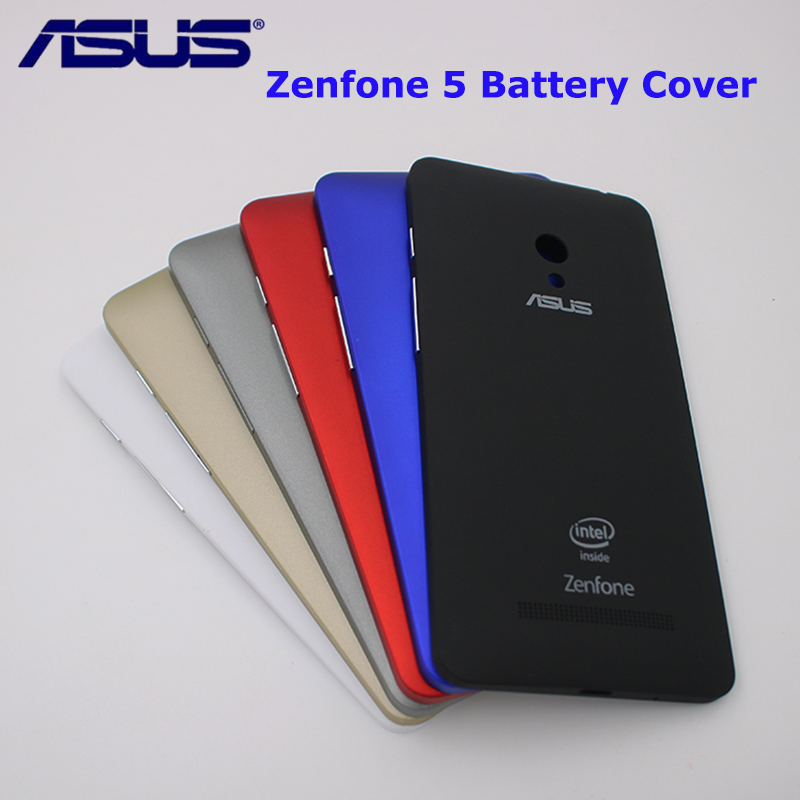Original  Back Battery  Cover For ASUS Zenfone 5 A501CG A500CG  A500KL Battery Door Back Case Housing With Side Button With Logo