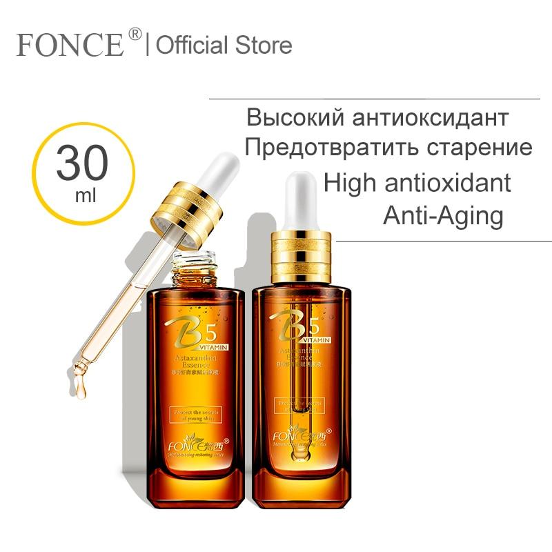 Fonce profundo rpair antioxidante soro facial clarear melanina clareamento da pele anti envelhecimento natural astaxantina líquido primário 30ml
