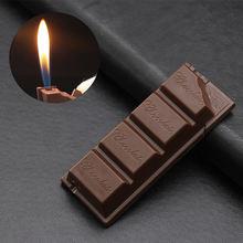 Новые творческие шоколад легче чем газ бутан зажигалки Портативный
