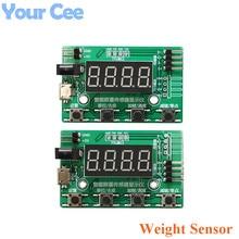 HX711 yük hücresi AD ağırlık basınç sensörü AD modülü ile ekran 24-bit tartı elektronik tartı