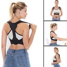 Orthèse soutien ceinture réglable Posture arrière correcteur clavicule dos épaule lombaire Correction de Posture pour adulte étudiant 8