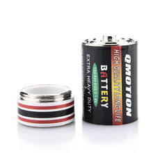 Verborgen Geld Munten Container Case Creative Batterij Secret Stash Diversion Safe Pillendoosje Batterij Opbergdozen(China)