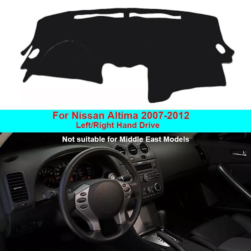 134.5x66cm Car Dashboard Mat Protective Non-Slip Cover For Nissan Altima