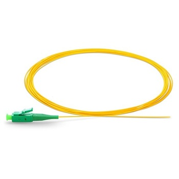 цена на LC/UPC LC APC Pigtail 1m Simplex 9/125 Single Mode FTTH Cable LC/UPC LC APC Fiber Optic Pigtail LC Connector fibra optica