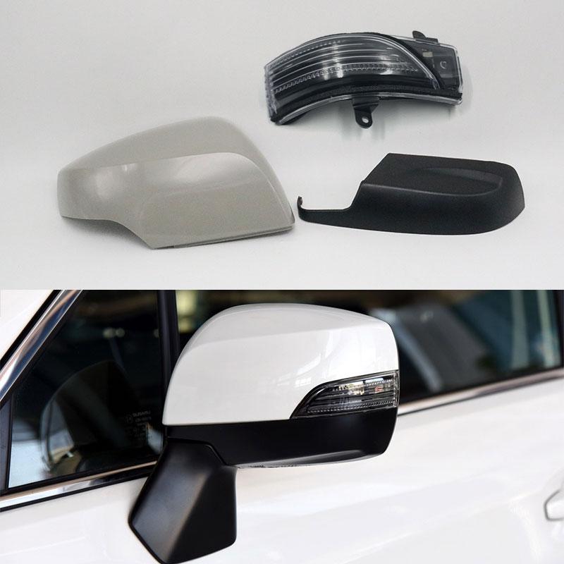 Внешнее зеркало заднего вида с поворотным сигналом светильник для Subaru Outback 2015-2018 XV 2013-2016 Lagecy Forester Impreza WRX STI