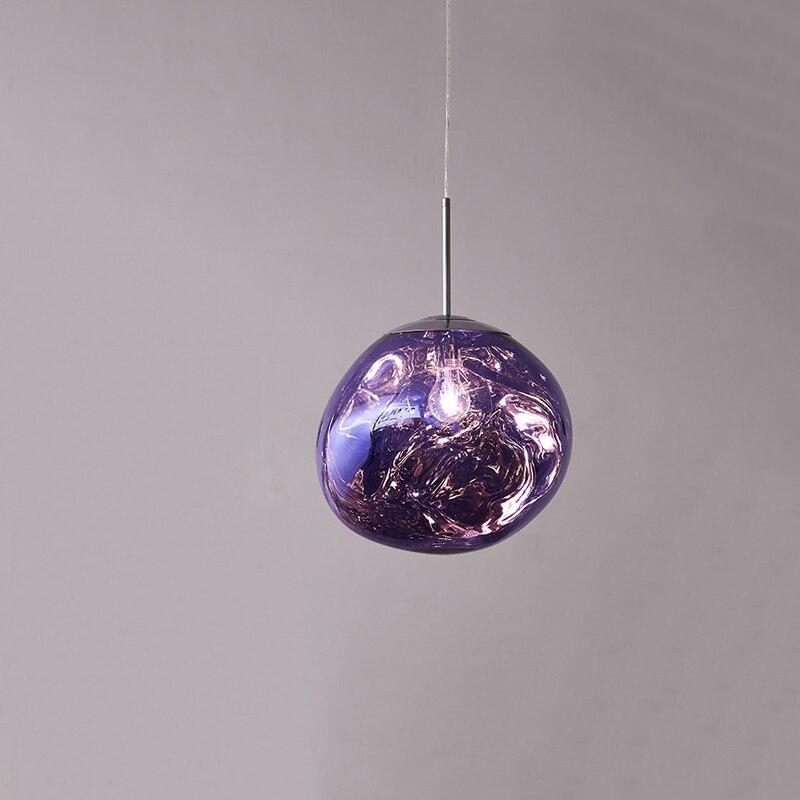 Purple Glass Pendant