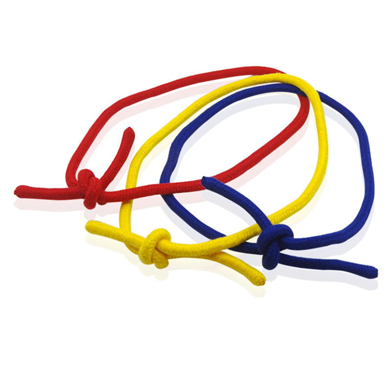 Magic Rope Three Strings Linking Ropes Magic Tricks Close-Up Street Magic Props Illusions Accessories Red Yellow Blue image