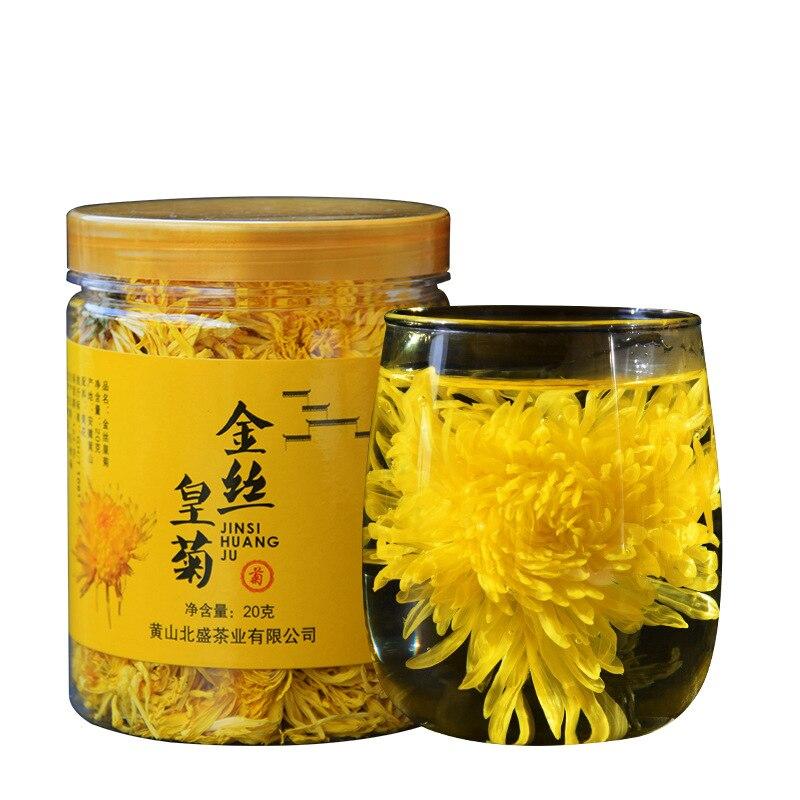 Натуральные сушеные цветы, золотой шелк, король, хризантемы, цветок, чай, сушеные цветы, лепестки, аромат «сделай сам», свадебные аксессуары, ...