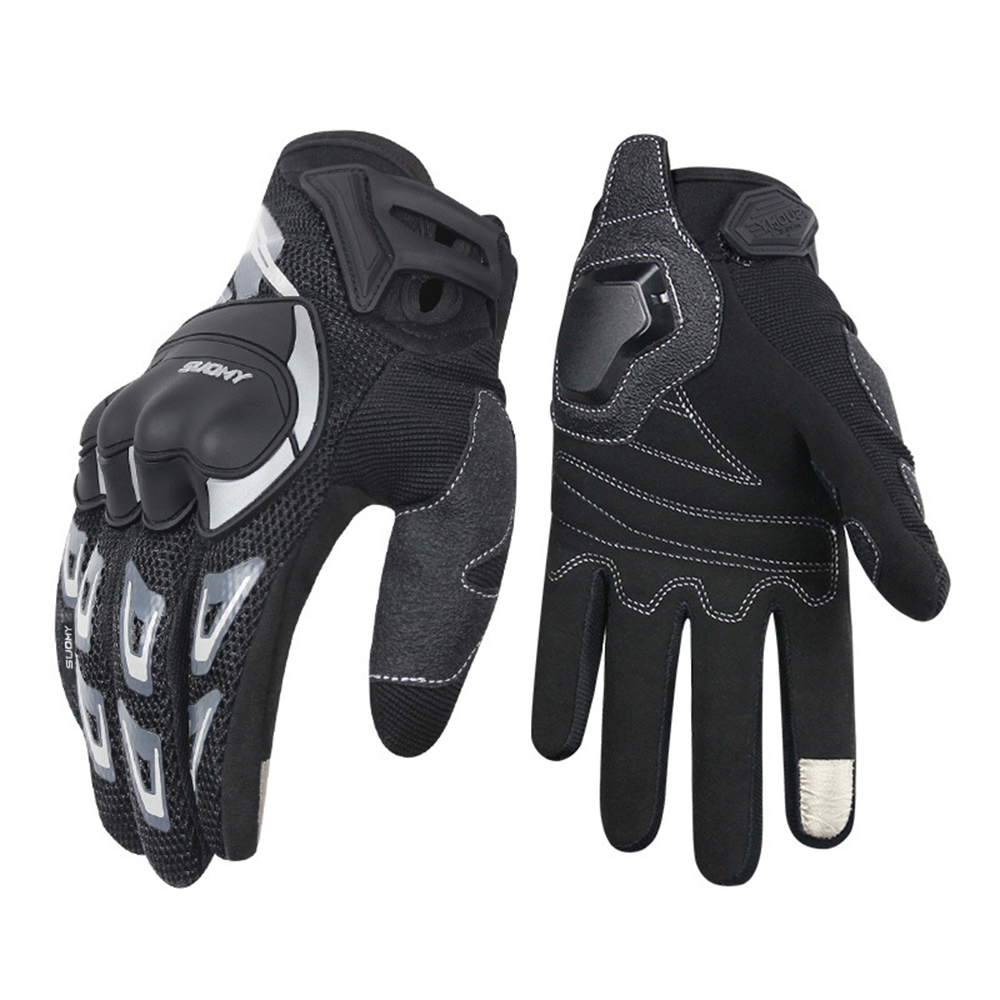 Motorcycle Gloves Touch Screen Men S Winter Warm Waterproof Windproof Protectiv