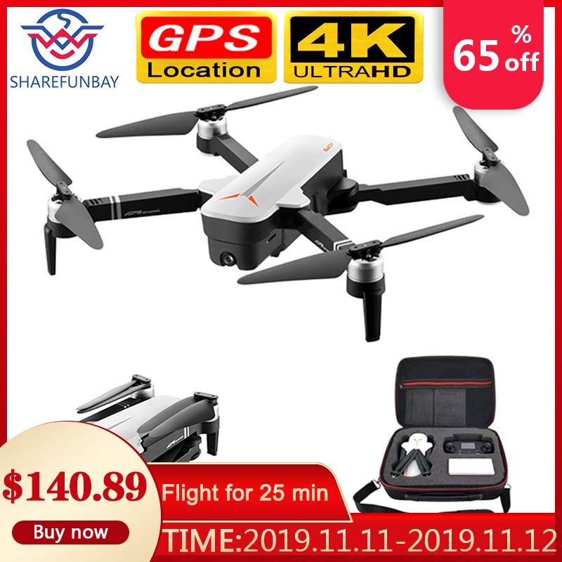 X9 Drone 4K HD GPS drone WiFi fpv Quadcopter brushless motor servo camera intelligent return with
