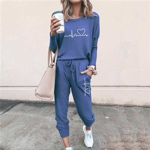 Women Tracksuit Pullovers Hoodies and Black Pants Autumn Winter Suit Female Solid Color Casual Full Length Trousers Outfits 2021 25