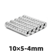 AGMA 10pcs 10x5mm Hole 4mm N35 Super strong round countersunk Rare Earth magnets  permanent neodymium magnet 10*5-4mm 50pcs pack dia 12 4mm hole 3mm strong neodymium magnet round n50