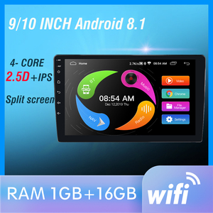 Image 1 - 2din Car Radio 2.5D GPS Android Multimedia Player Universal audio Navigation bluetooth For Volkswagen Nissan Hyundai Kia Toyota