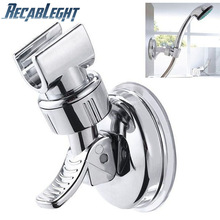 Hand-Shower-Holder Bathroom-Bracket Adjustable Stable-Rotation Universal Full-Plating