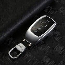 Vỏ Chìa Khóa Dành Cho Xe Mercedes GLe W167 GLe 2020 Mercedes W213 G W463 Mercedes W177 W205 AMG S W222 Phụ Kiện
