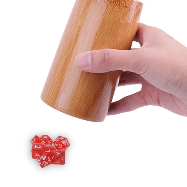 7 dés face D4 D6 D8 D10 D12 D20 MTG magique le rassemblement D Transparent rouge