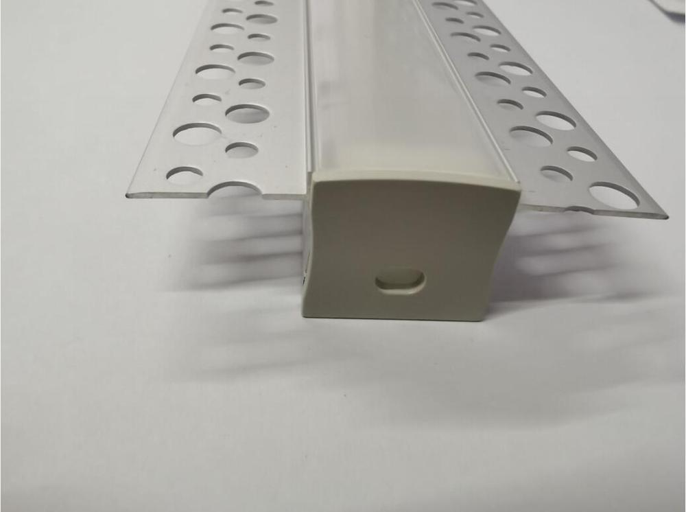 Free Shipping 2m/pcs   40m/lot  Architectural Gypsum Ceiling Plaster Recessed Mounted Drywall Aluminium Profiles
