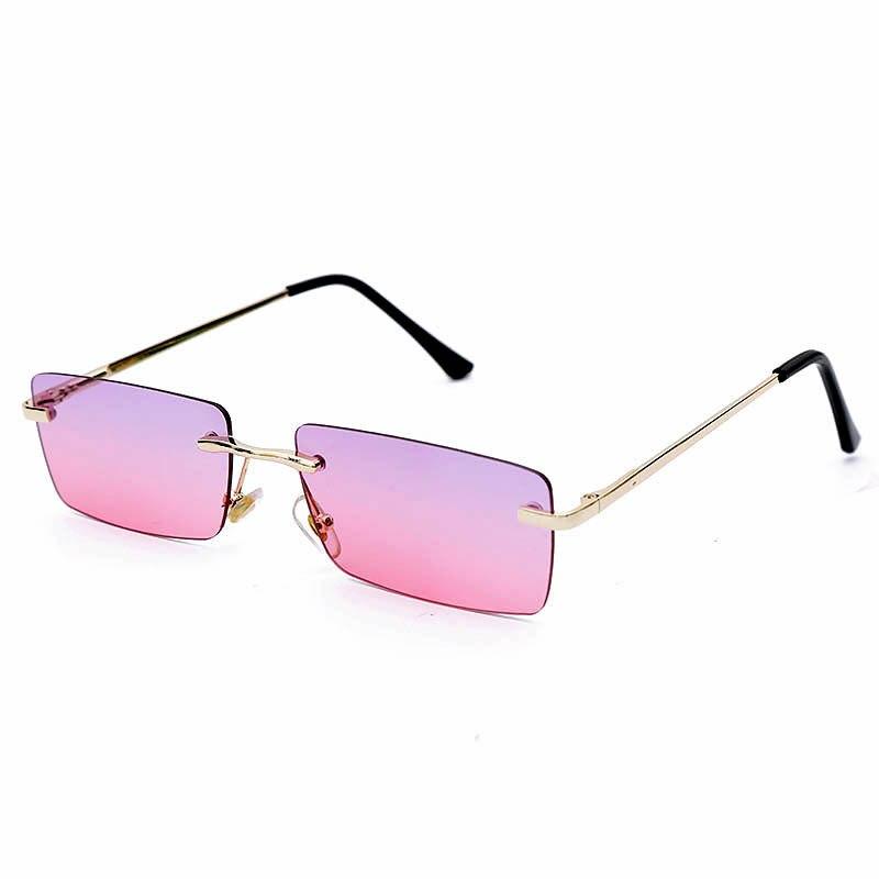 Новые маленькие квадратные солнцезащитные очки персонализированные