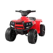 цена на Kids Four-Wheel Ride Electric Powered Beach Car Outdoor Children Driving ATV Car Toys Headlight Rechargeable Play Toy Gift T0815