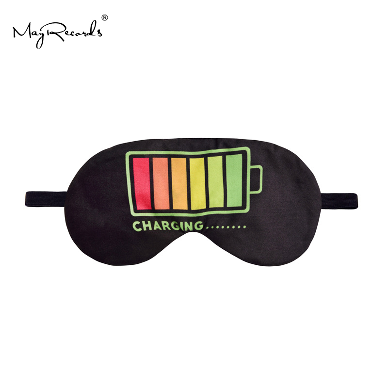 New Eye Mask Battery Printing Camping Emergency Travel