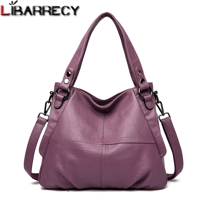 Famous Brand Fashion Female Big Tote Bags 2019 Women Luxury Designer Handbags Quality Leather Large Shoulder Messenger Bags Sac
