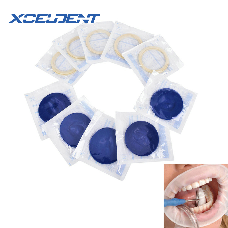 1 Pc Dental Disposable Rubber Sterile Mouth Opener Oral Cheek Expanders Retractor Rubber Dam Mouth Opener Oral Hygiene