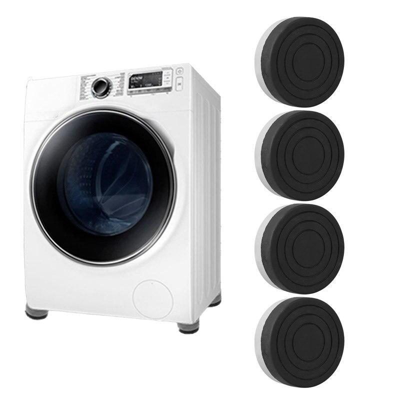 4pcs Anti vibration pad for washing machine Refrigerator Mute Rubber Furniture Non Slip Raise Height Feet Floor Protectors Mat