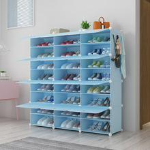 Minimalist Modern Dustproof Shoe Rack DIY Assembly Wholesale Home Plastic Shoe Cabinet Space-saving Closet Organizer for Shoes