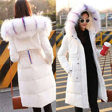 Fashionable High Quality hooded down coat ladies Parker Jacket