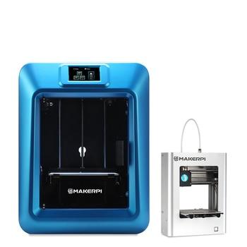 MakerPi Education Desktop 3d Printer Enclosed Laser Engraving FDM Printing Machine Get Mini 3d Printer FREE 1