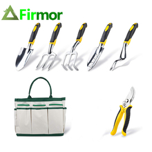 FIRMOR 6 Pcs Garden Tools Set Including Pruning Shears Trowe