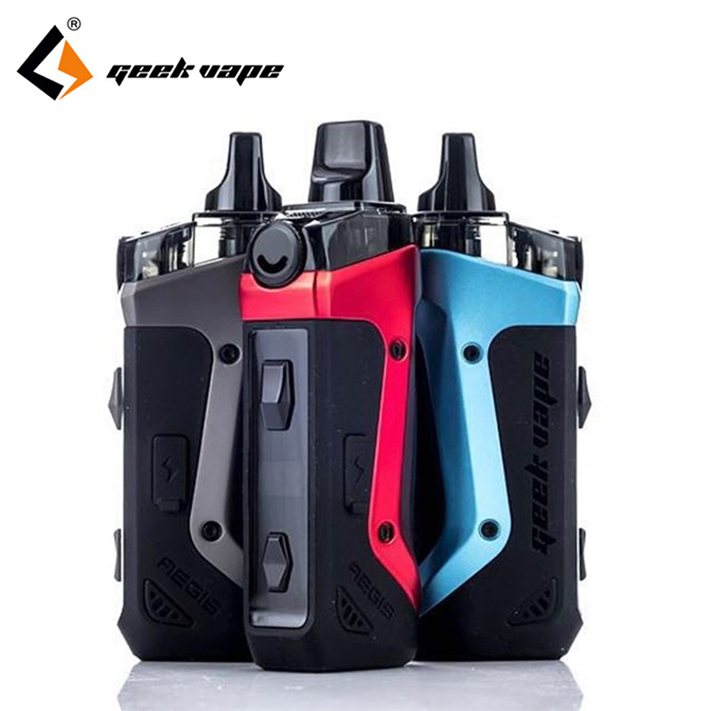 Original Geekvape Aegis Boost 40W Kit With 3.7ml/2ml Cartridge & Bulit-in 1500mah Battery Vape Pod System Kit
