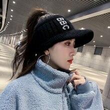 Шляпа женский корейский Стиль прилив осень зима Модные женские