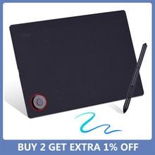 Tableta gráfica profesional, tablero de escritura con 8192 niveles de batería, Stylus gratis, multifuncional