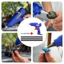 High Temp Heater Melt Hot Glue Gun Repair Tool Car Removal For Auto Dent Body Kit Car Repair Dent Tools T2U0(China)